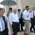 President of Turkey with Tour Guide